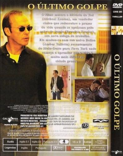 o ultimo golpe - suspense - dvd novo lacrado original