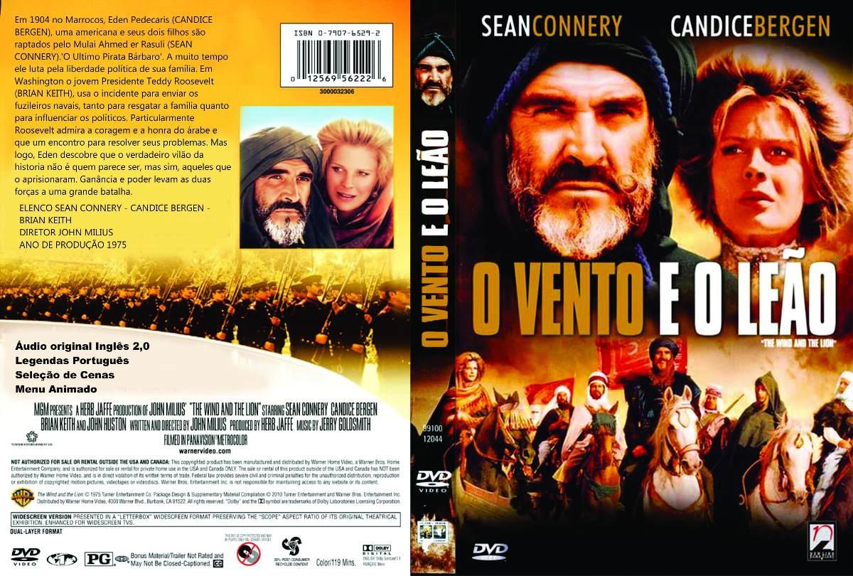 O Vento E O Leão Sean Connery Candice Bergen Legendado Raro - R ...