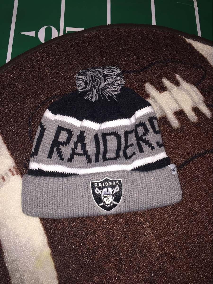 acaaec8fc6a8e Oakland Raiders Nfl Brand  47 Beanie 100% Original -   350.00 en ...