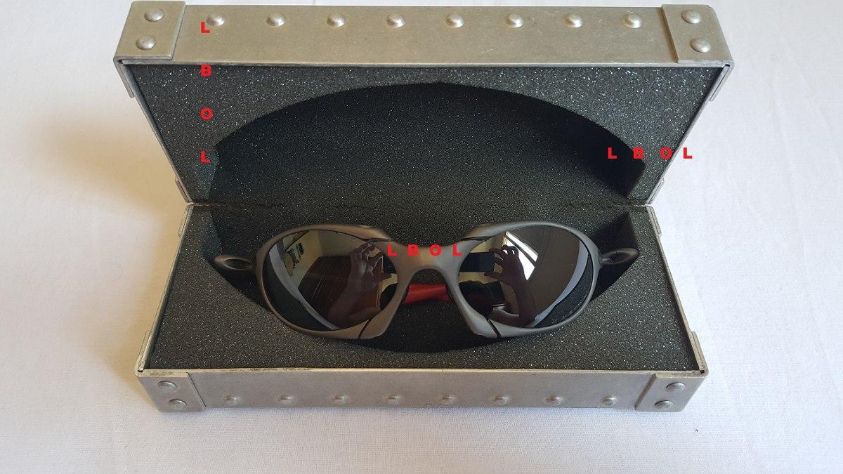 1780ef35a91b2 oakley 1 case estojo porta óculos juliet romeo xx 24k mars x. Carregando  zoom.