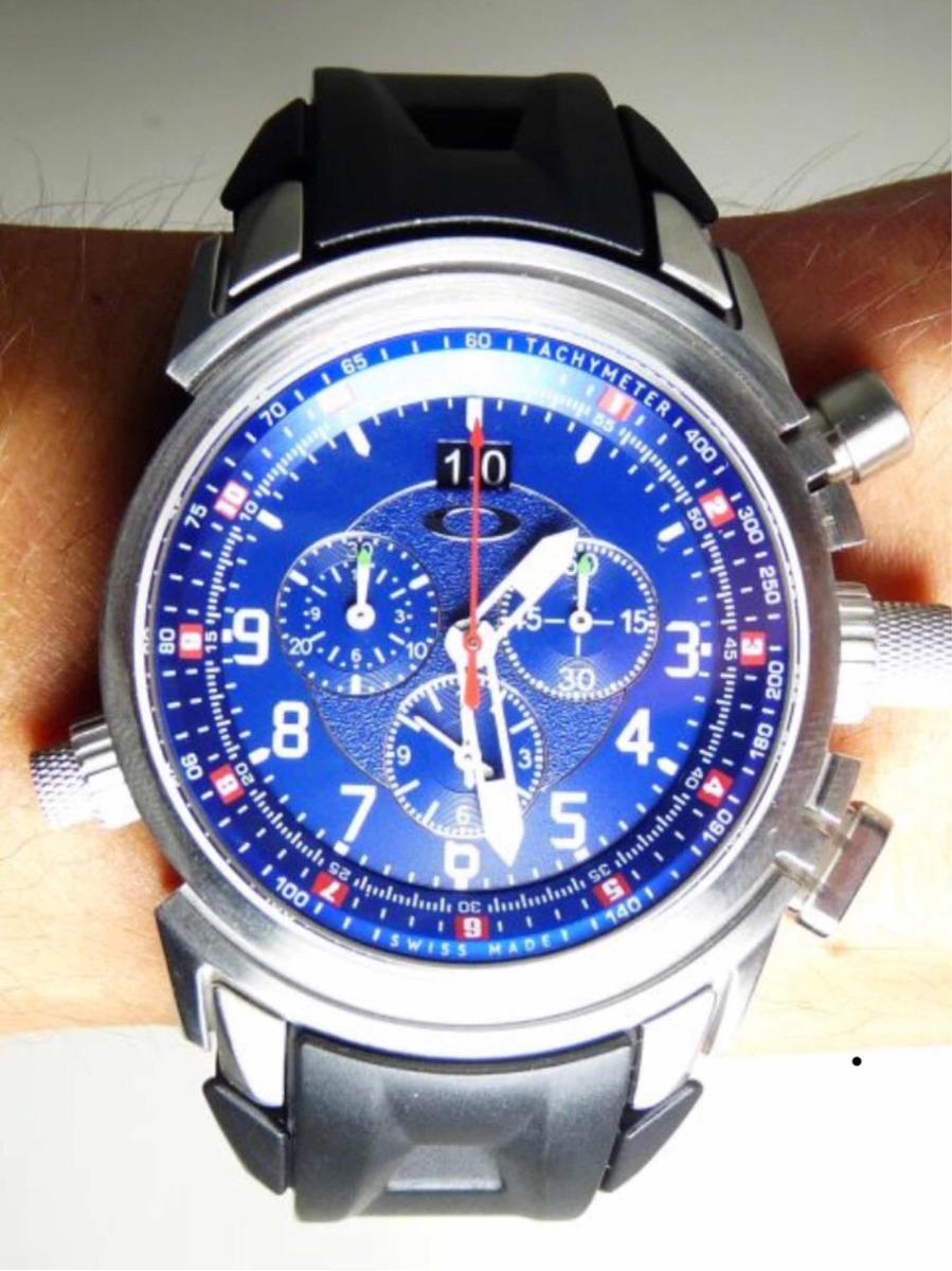 48a5fee11d oakley 12 gauge chrono rubber strap. Carregando zoom.
