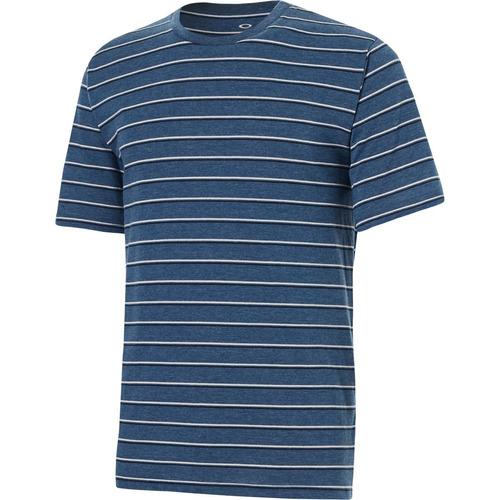 oakley 50-solo stripe - playera para hombre, ensn azul claro