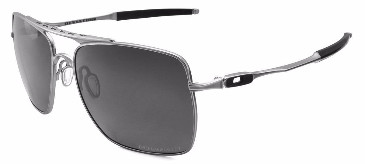 dbb73367e08 Oakley® 60o18 Deviation Polarized Iron Steel Sol0195 Gafas ...