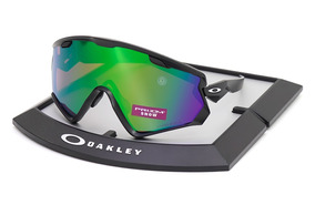 41976b54a127b Oakley 7072 - 01 Wind Jacket 2.0 Black Prizm Snow Jade