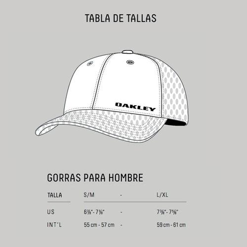 oakley accesorios gorra original hombre silicon o-cap