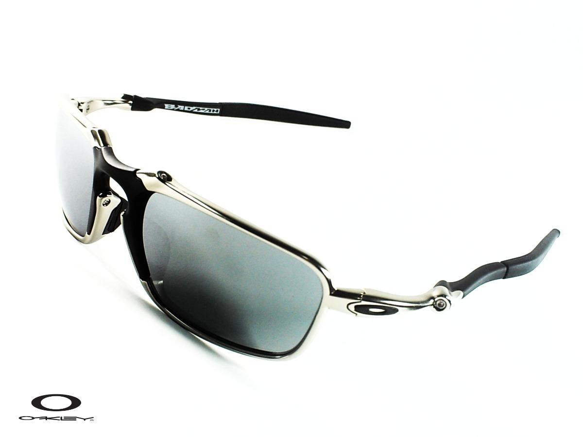 da0d6b576fd Oakley® Badman 60o21mm Silver Xmetal Polarized Sol0304 Gafas ...