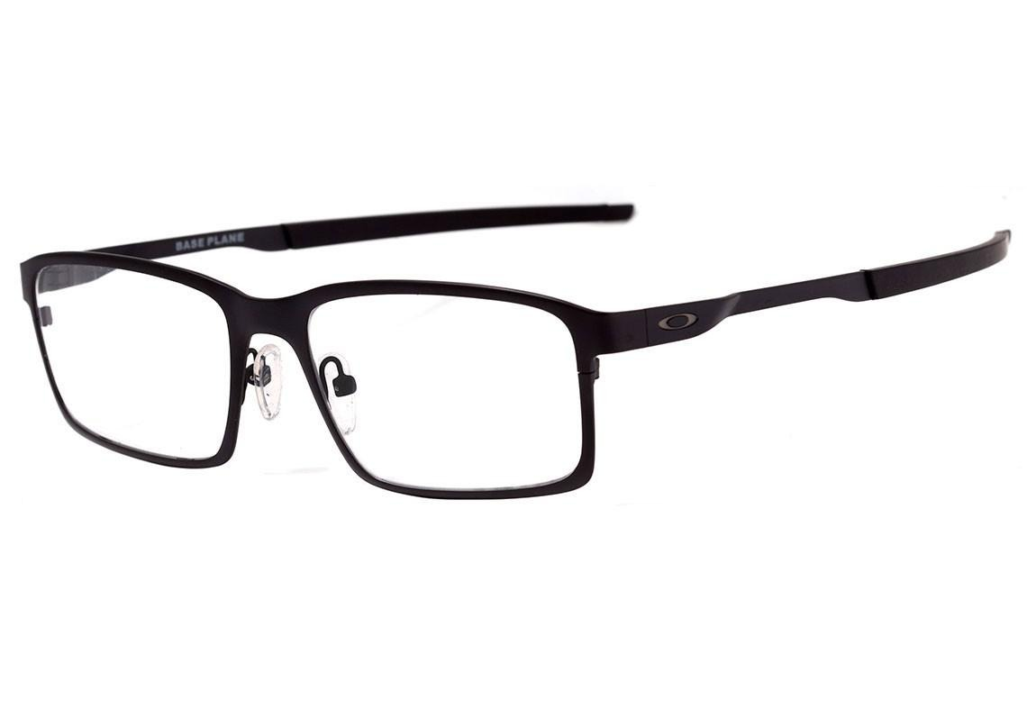 88875c050 Oakley Base Plane - Óculos De Grau Satin Black - R$ 494,10 em ...