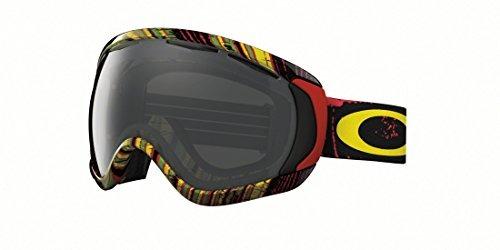 aff5c6c060 Oakley Canopy Stumped Rasta Gafas De Esquí, Gris Oscuro - $ 136.990 ...
