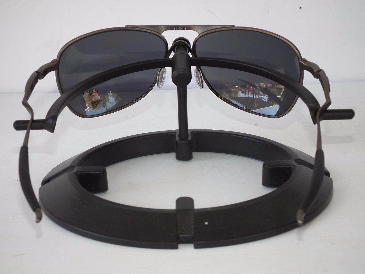 7fa94badeb oakley crosshair pewter oo6014-02 polarizado. Carregando zoom.