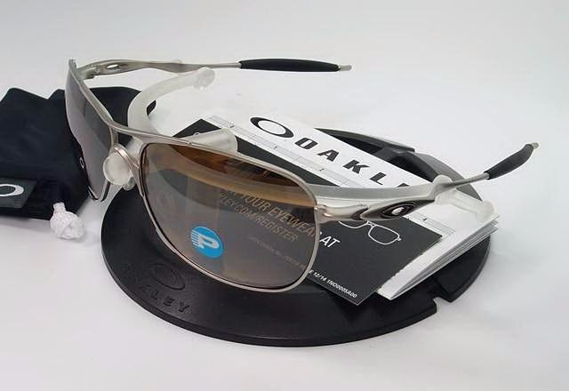 7d60c7deea Oakley Crosshair Titanium Oo6014-01 Polarizado Original - R  745