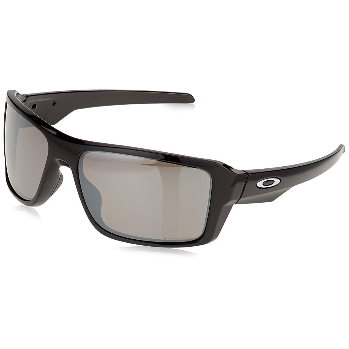 a74364f9186 oakley double edge polished black - prizm black polarized. Cargando zoom.
