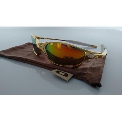 f30d8c830 Oakley Double Xx Juliet X Metal 24k Lente Dourada Iridium - R$ 189 ...