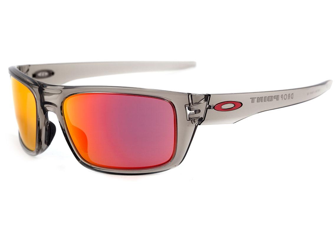 5a013dbd9a oakley drop point - óculos de sol grey ink  ruby iridium. Carregando zoom.