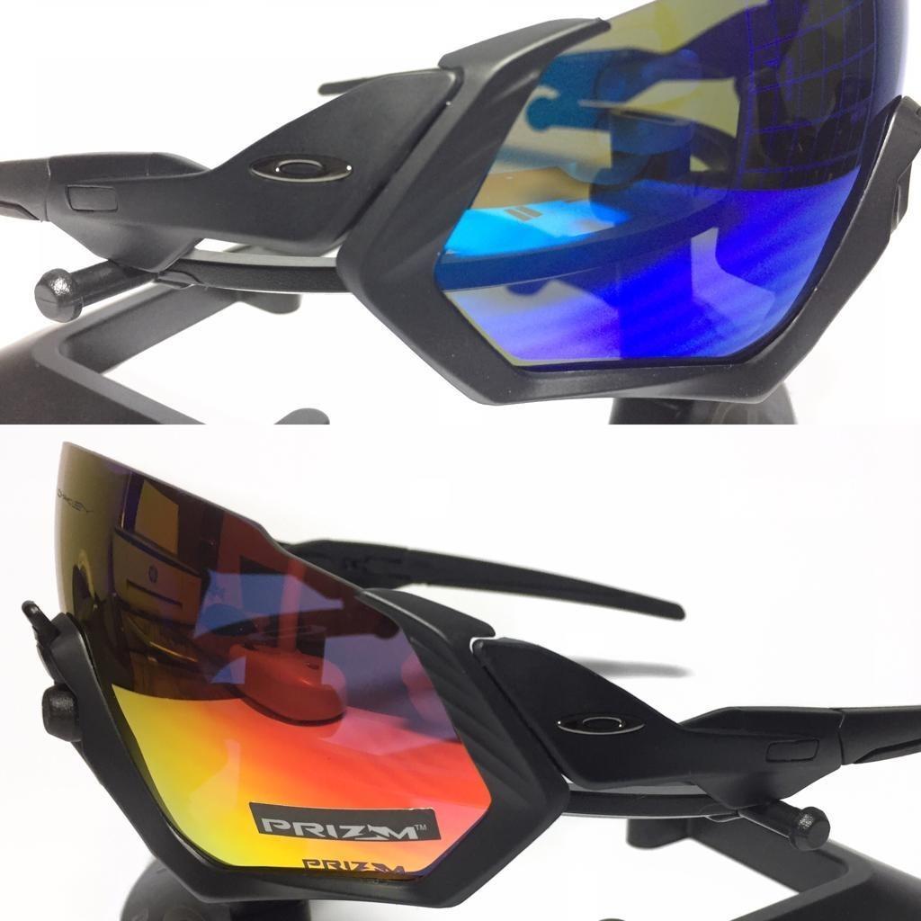 cbbe319319 oakley flight jacket fotocromático fosco 4 lentes promoção +. Carregando  zoom.