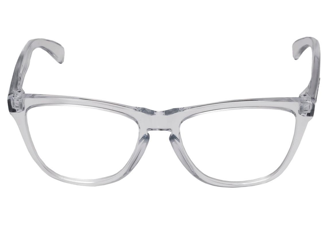 oakley frogskin - óculos de grau polished clear - lente 5,4. Carregando  zoom. 474d8681f3