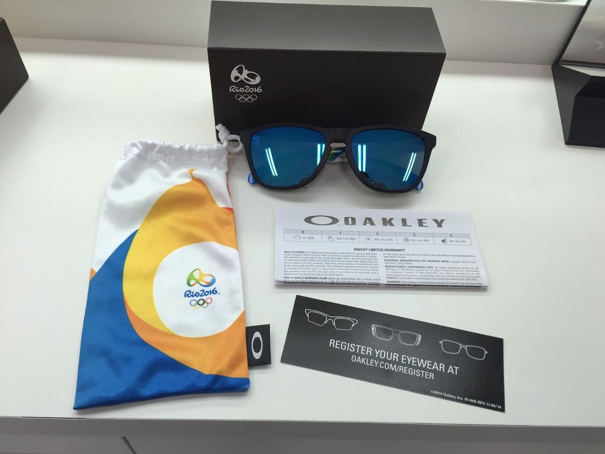 0d399d0d6c255 Oculos Oakley Brazil Olympics Frogskins Oo9013-94 55 Origin - R  499 ...