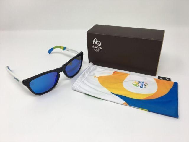 dc18a3b5c66d6 Oculos Oakley Frogskins Black Brasil Olympics Frete Gratis - R  429 ...