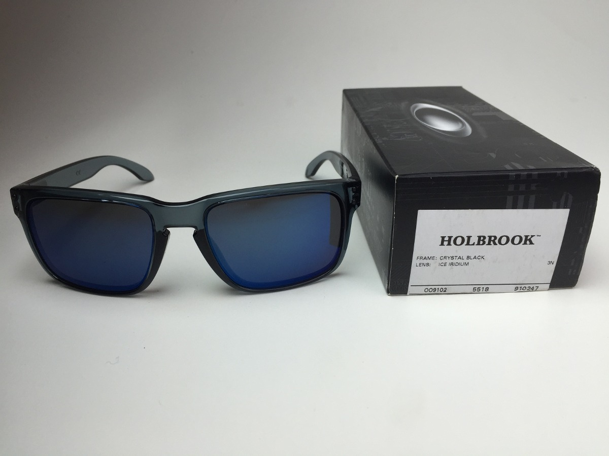 2399e0568b792 oakley holbrook crystal black - lens ice iridium. Carregando zoom.