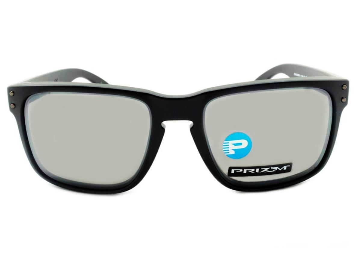 Oakley Holbrook Matte Black Prizm Black Polarized - R  499,00 em ... ebf9b9a455