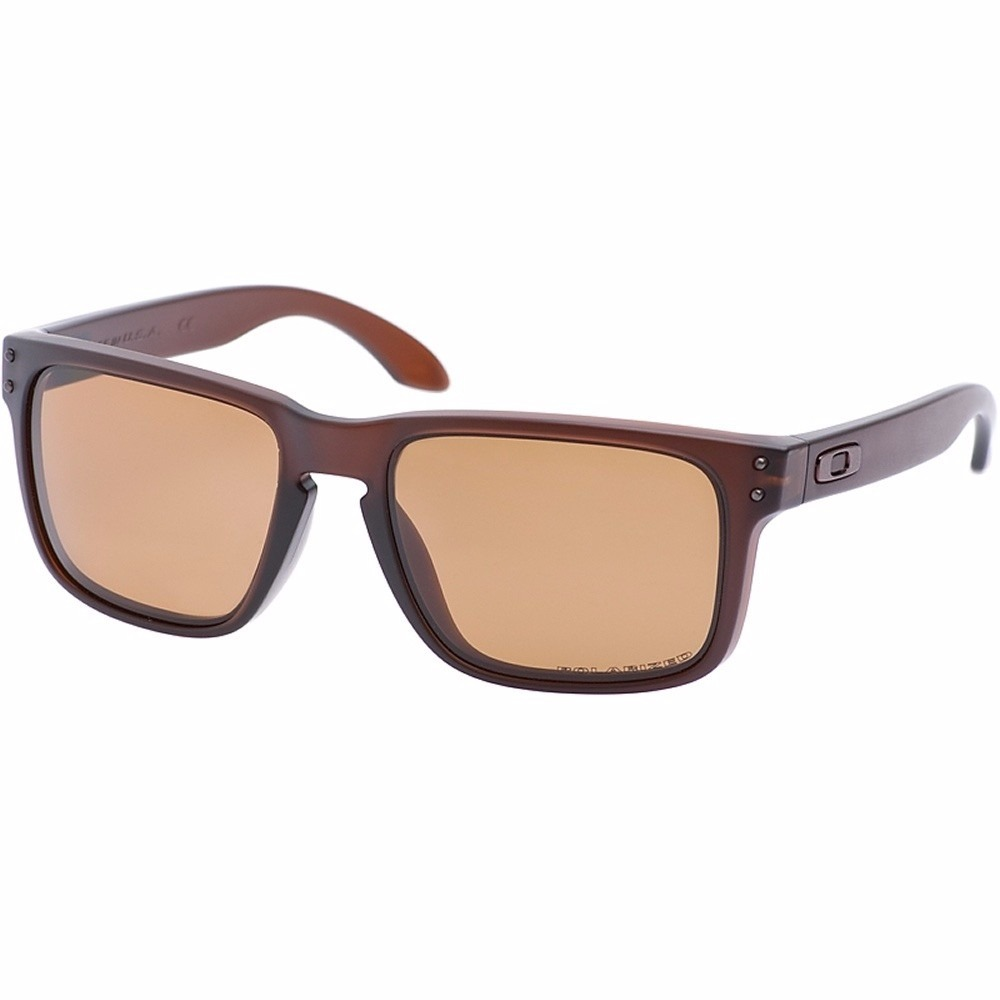 4a85539cecb1 oakley holbrook matte rootbeer - bronze polarized oo9102-03. Cargando zoom.