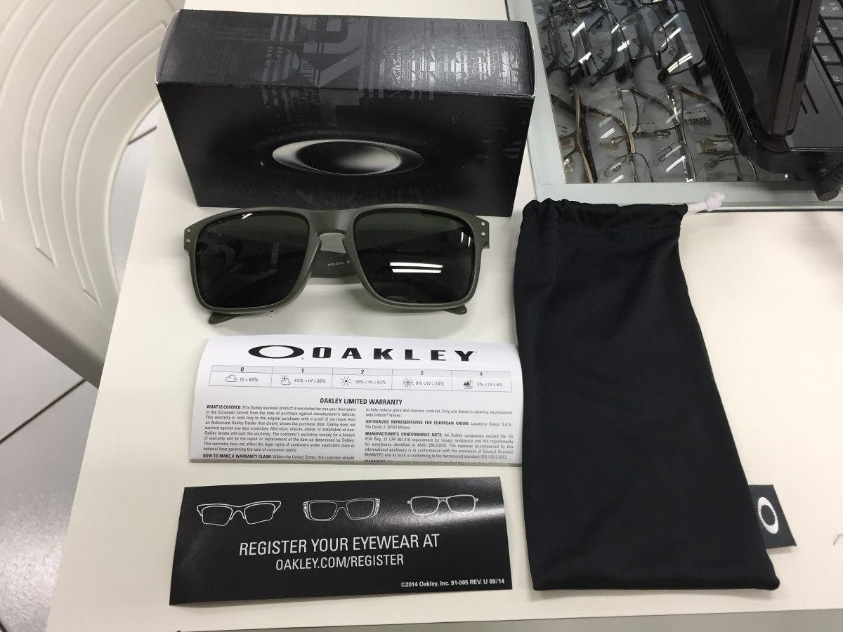 ac39fa0a10c6c Oculos Solar Oakley Holbrook Oo9102 70 Original P. Entrega - R  449 ...