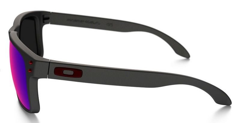 Oculos Solar Oakley Holbrook Matte Black Red Iridium - R  439,90 em ... dc642f8b34