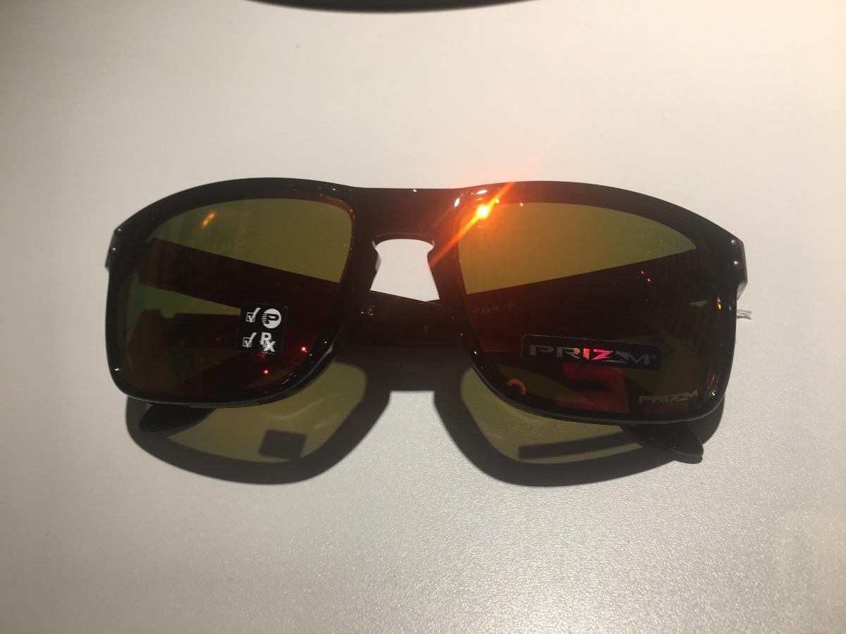 38ee1b0fa6dfe Carregando zoom... oculos oakley holbrook black prizm polarizado  oo9102original