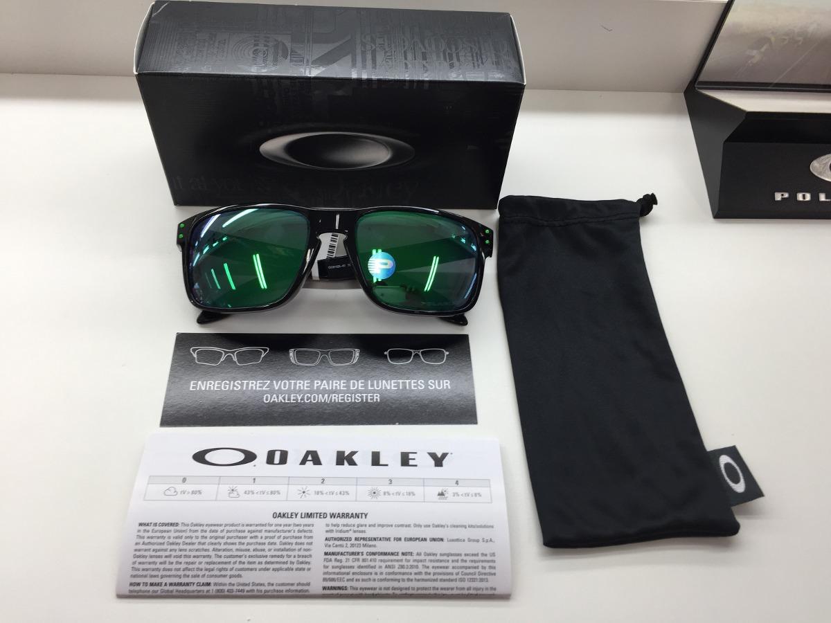 620345398ef64 Oculos Oakley Holbrook Polarizado Oo9102l 40 Jade Iridium Or - R ...