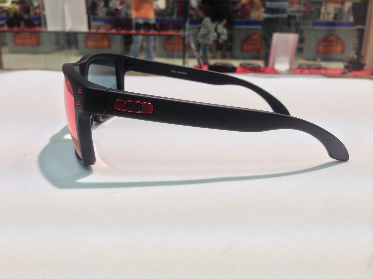 Carregando zoom... oculos oakley holbrook 009102l-36 matte black l .red  iridium 1a9f1c65de