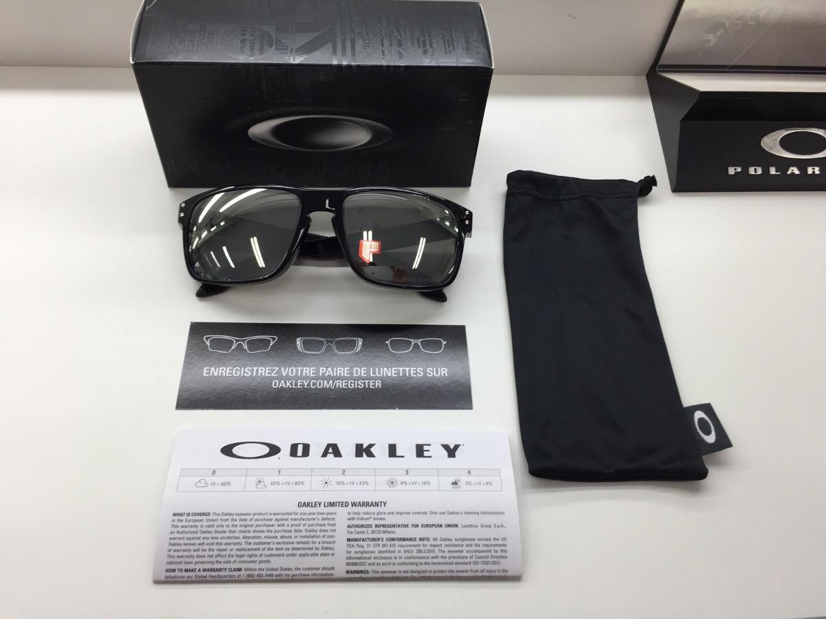 65ebd7a568078 Oculos Oakley Holbrook Polarizado Oo9102 68 Chrome Iridium - R  529 ...