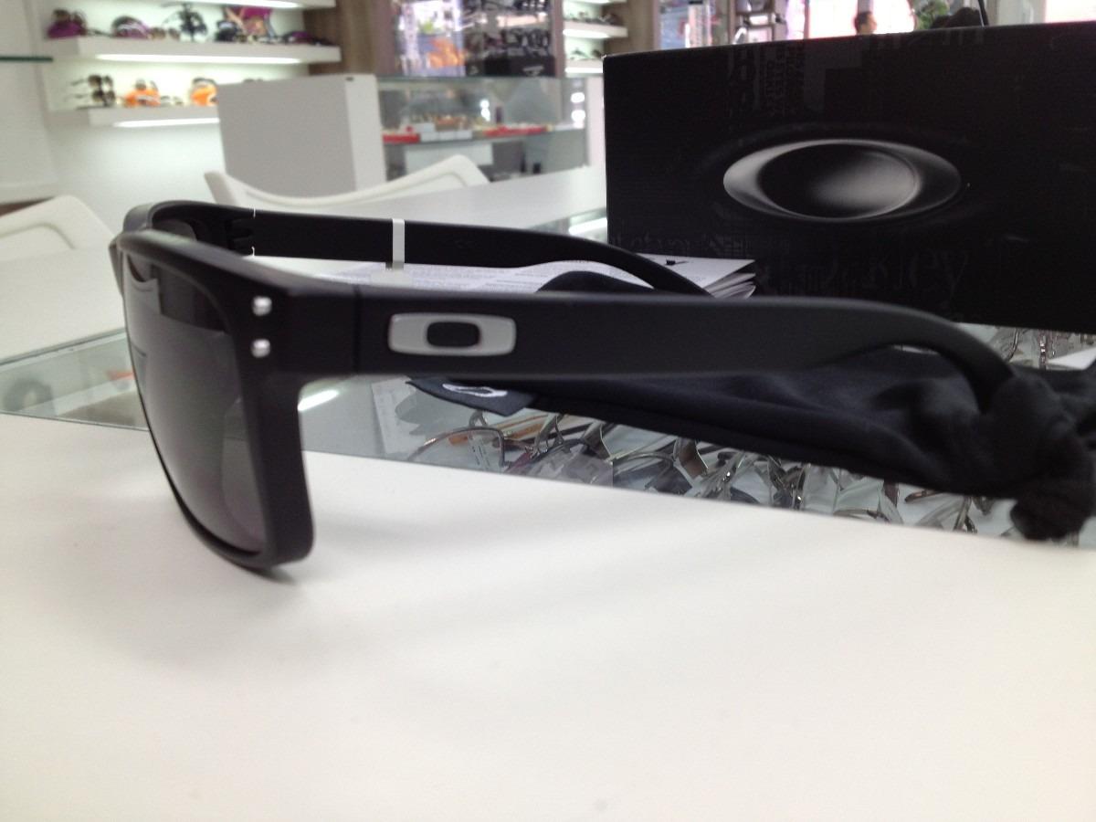 c9ef0437523f1 Carregando zoom... oculos oakley holbrook oo9102l-01 mate back w original