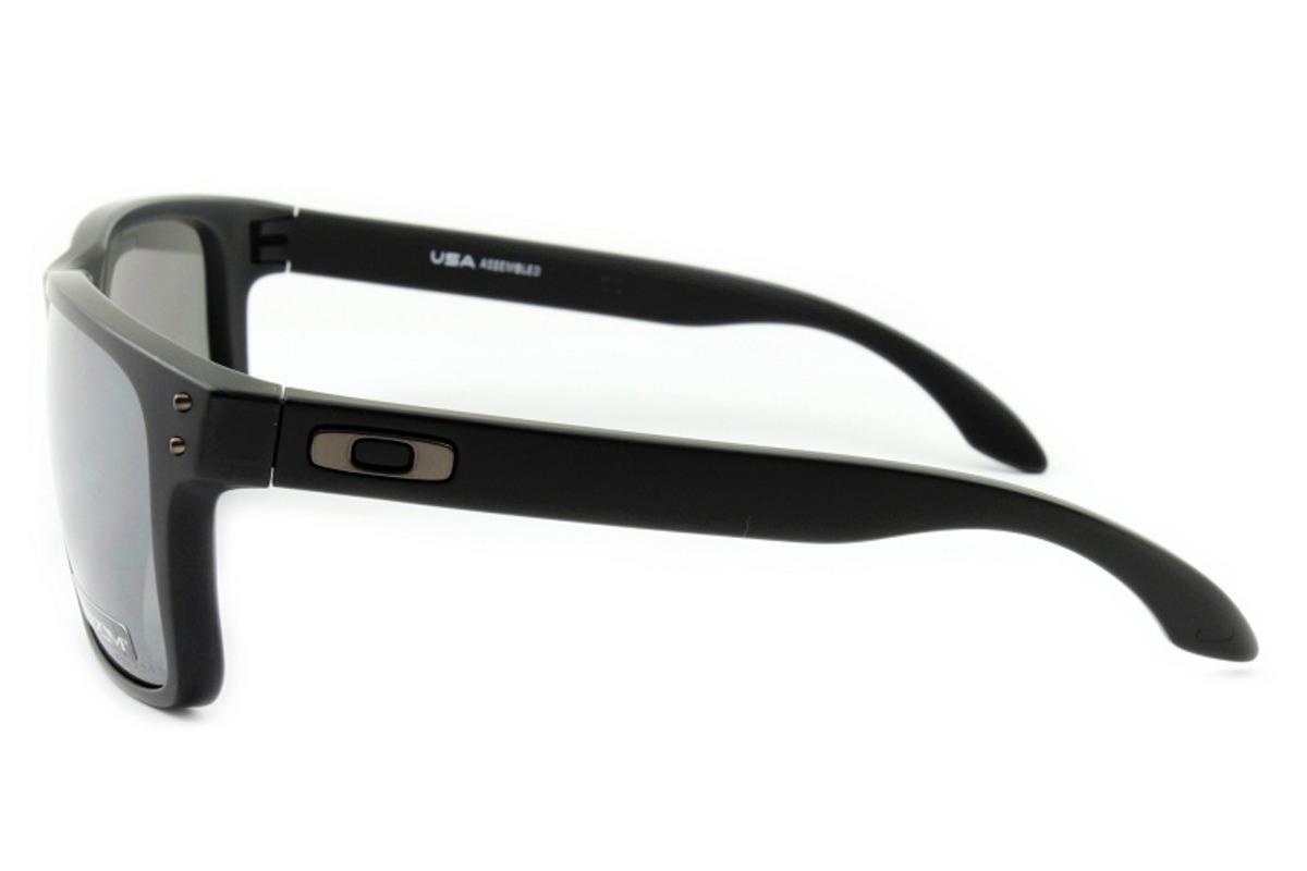 Óculos De Sol Oakley Holbrook Xl Matte Black Polarized Oo941 - R ... fe4c89cc9f
