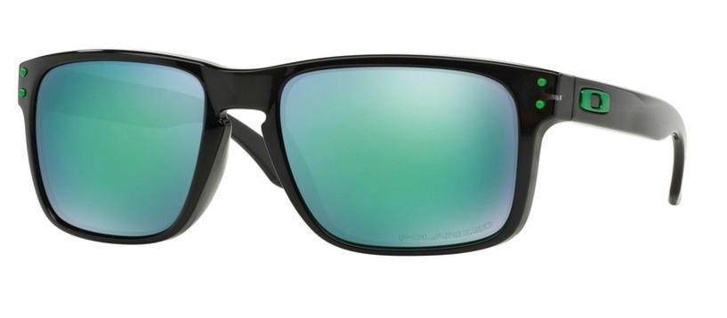 85000e46ba3 oakley holbrook oo9102-69 black ink   jade iridium polarized. Cargando zoom.