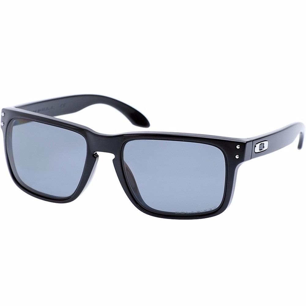 oakley holbrook polished black - grey polarized oo9102-02. Cargando zoom. f4223e3197