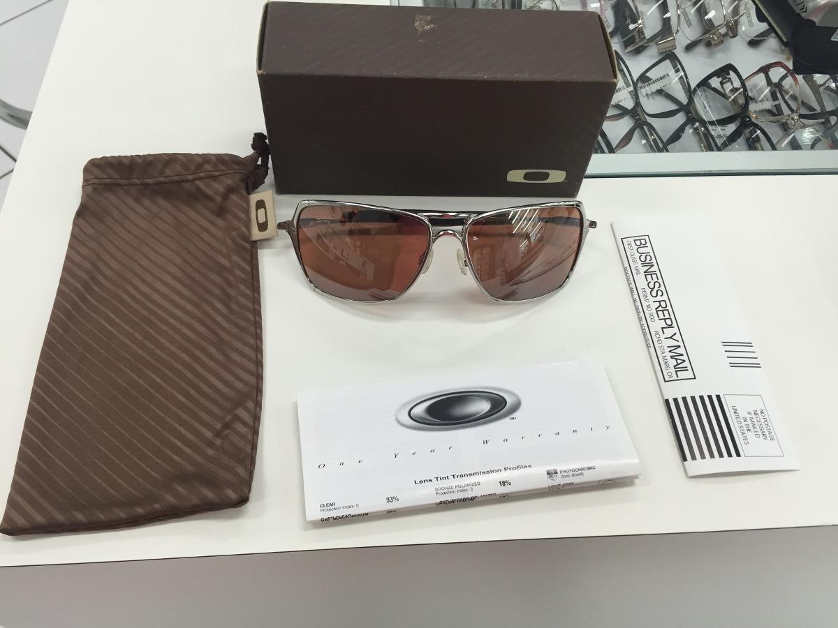 Oculos Solar Oakley Inmate 05-631 Polished Chrome Original - R  659 ... 1881b7e31e