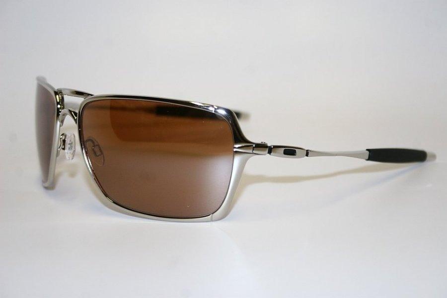 Óculos Oakley Inmate Polished Silver Gold Polarizado Cod0234 - R  12 ... a3154286fa