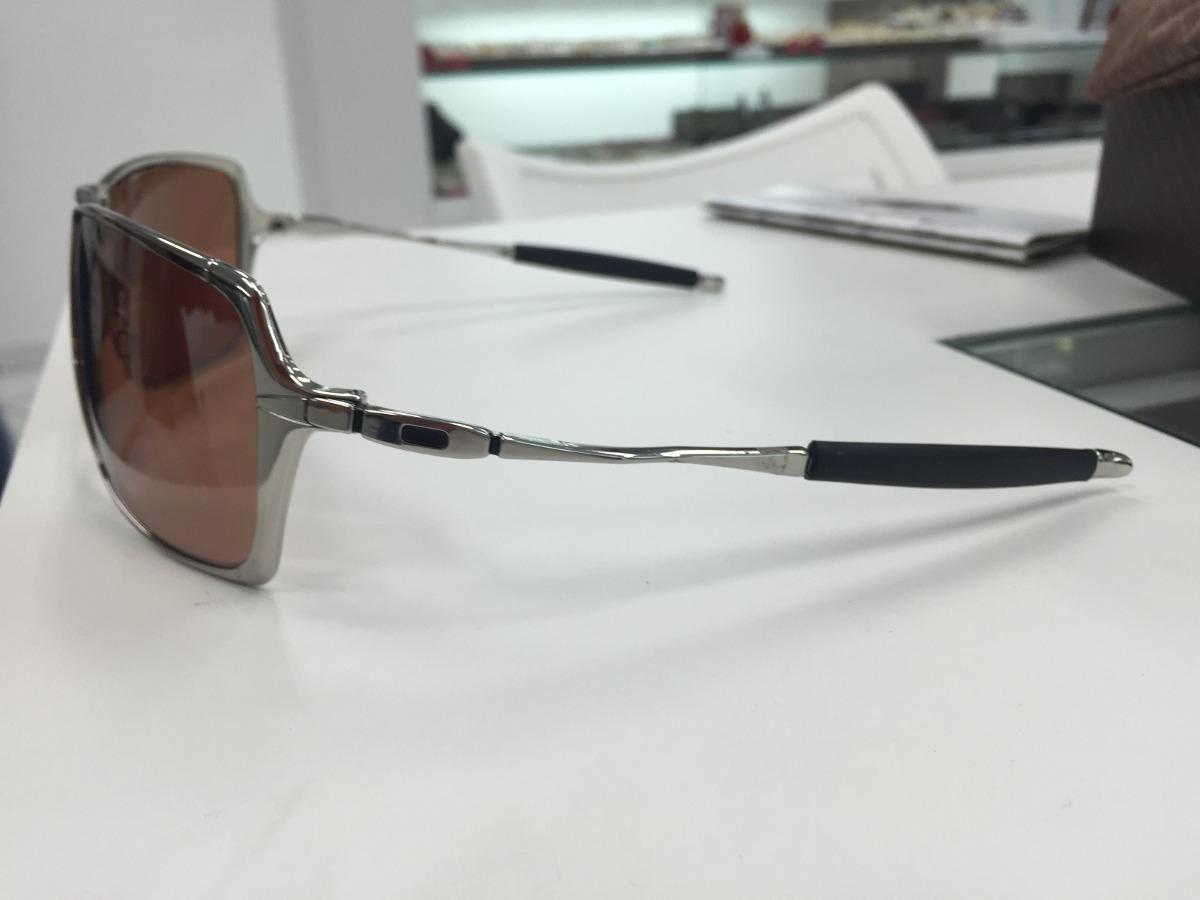 Carregando zoom... oculos solar oakley inmate 05-631 polished chrome  original bf4ff44bea