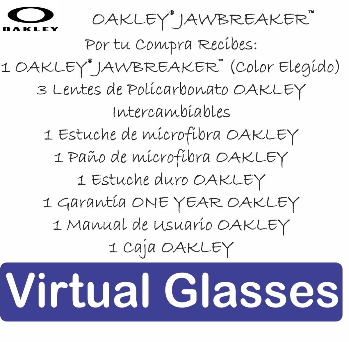 oakley jawbreaker 3 lentes