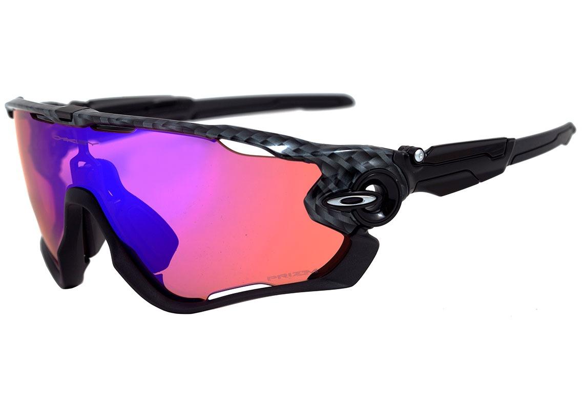 7ac16c3923 oakley jawbreaker - óculos de sol carbon fiber  prizm trail. Carregando  zoom.