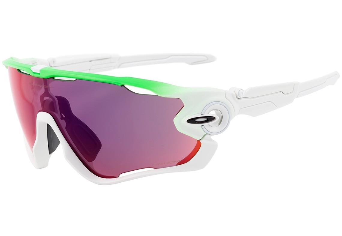 b677b4bf5 oakley jawbreaker - óculos de sol green fade/ prizm road. Carregando zoom.
