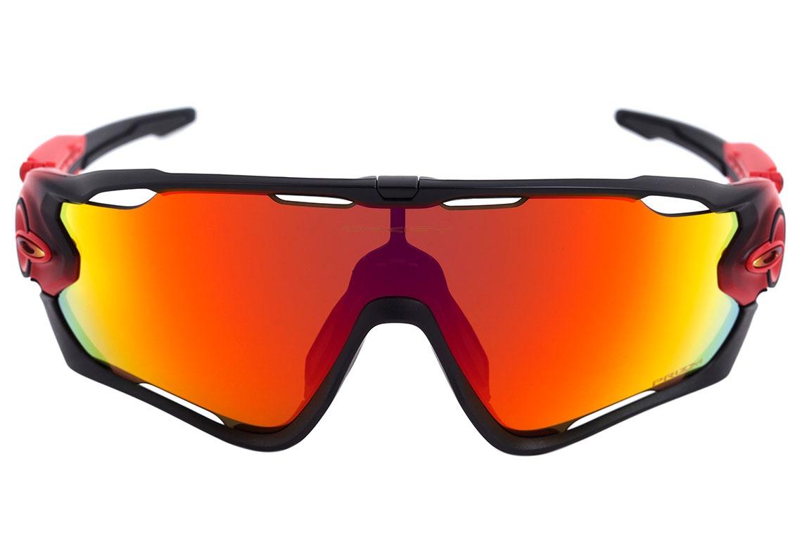 cb9960584 oakley jawbreaker - óculos de sol ruby fade/ prizm ruby. Carregando zoom.
