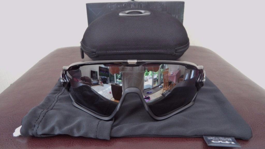 14ffea25b70b1 oakley jawbreaker polished black black iridium oo9290-01. Carregando zoom.