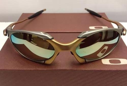 Oakley Juliet 24k X-squared Double Xx Romeo 1 Lente Gold - R  199. Oakley  24k Original - Óculos ... 68f787c880