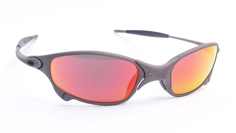 oakley juliet oculos · oculos oakley juliet x metal dark ruby titanium  original. Carregando zoom. 575dd6a1de