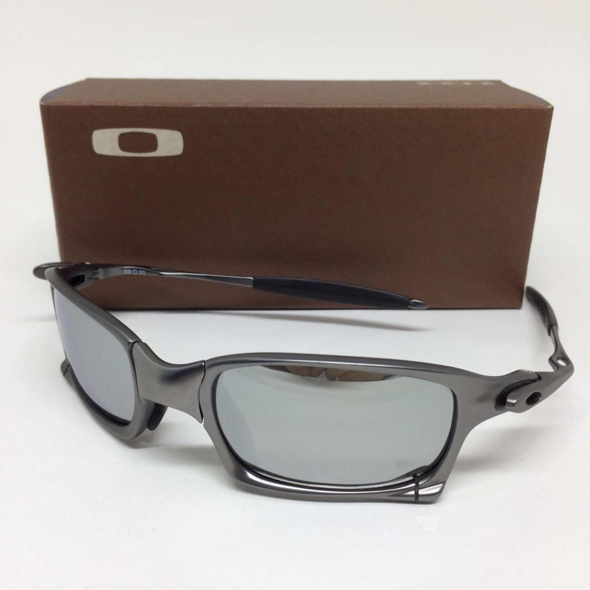 Carregando zoom... oculos oakley juliet squared armação grafite lente prata 22f869dba6