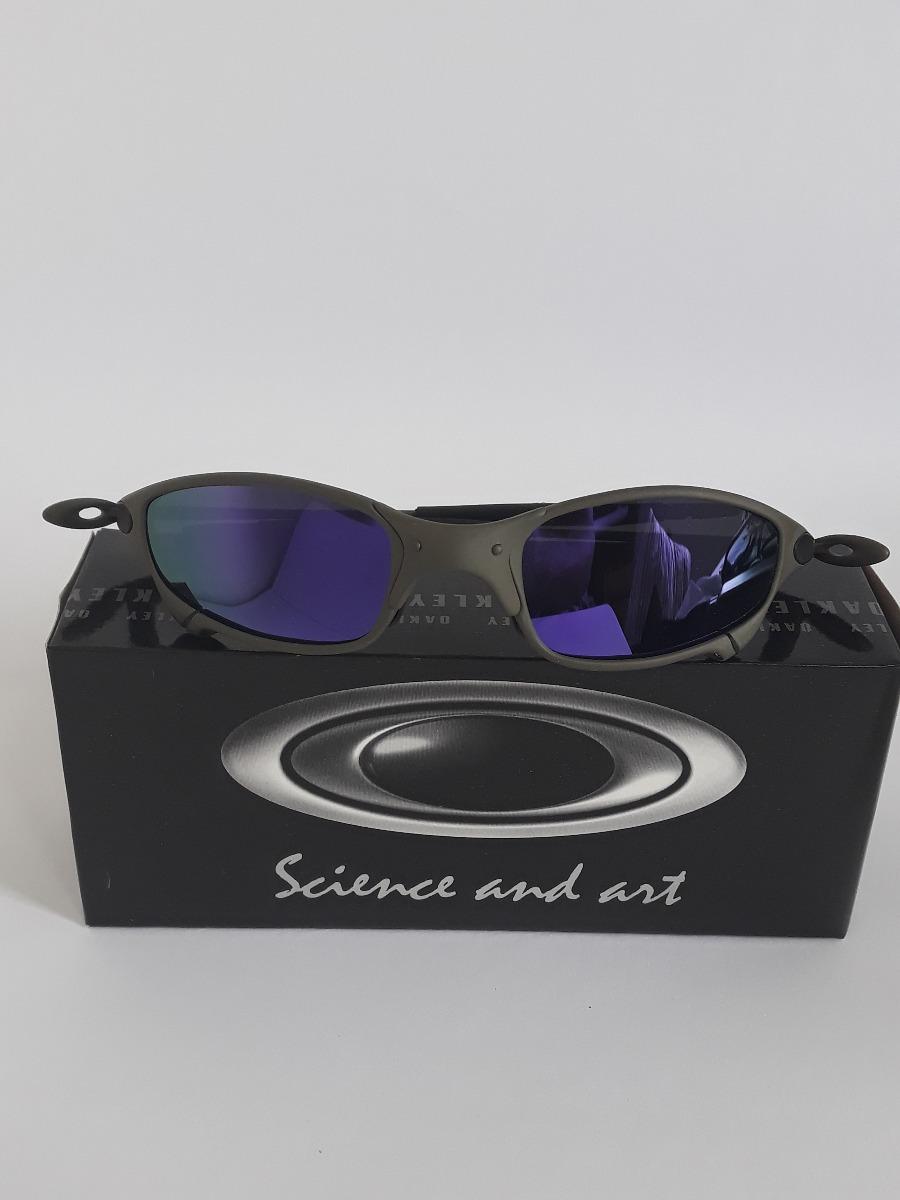 d95c5d280815a Carregando zoom... kit 4 lupa óculos oakley juliet double xx 24k romeo2  romeo1