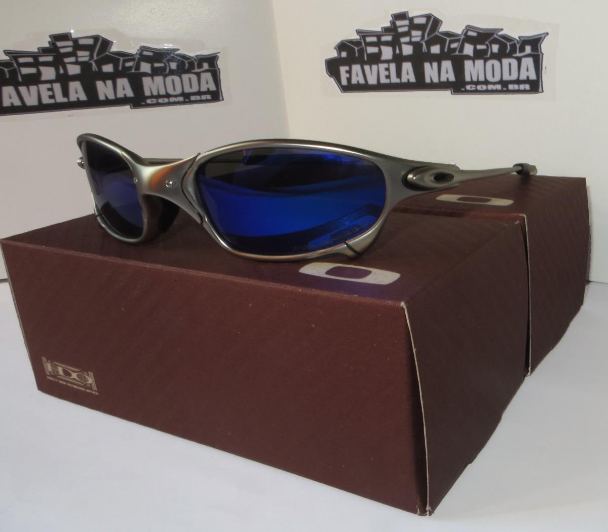 Óculos Oakley Juliet Plasma   Magic Blue+ Par De Lentes+ Bri - R ... d68893dec5
