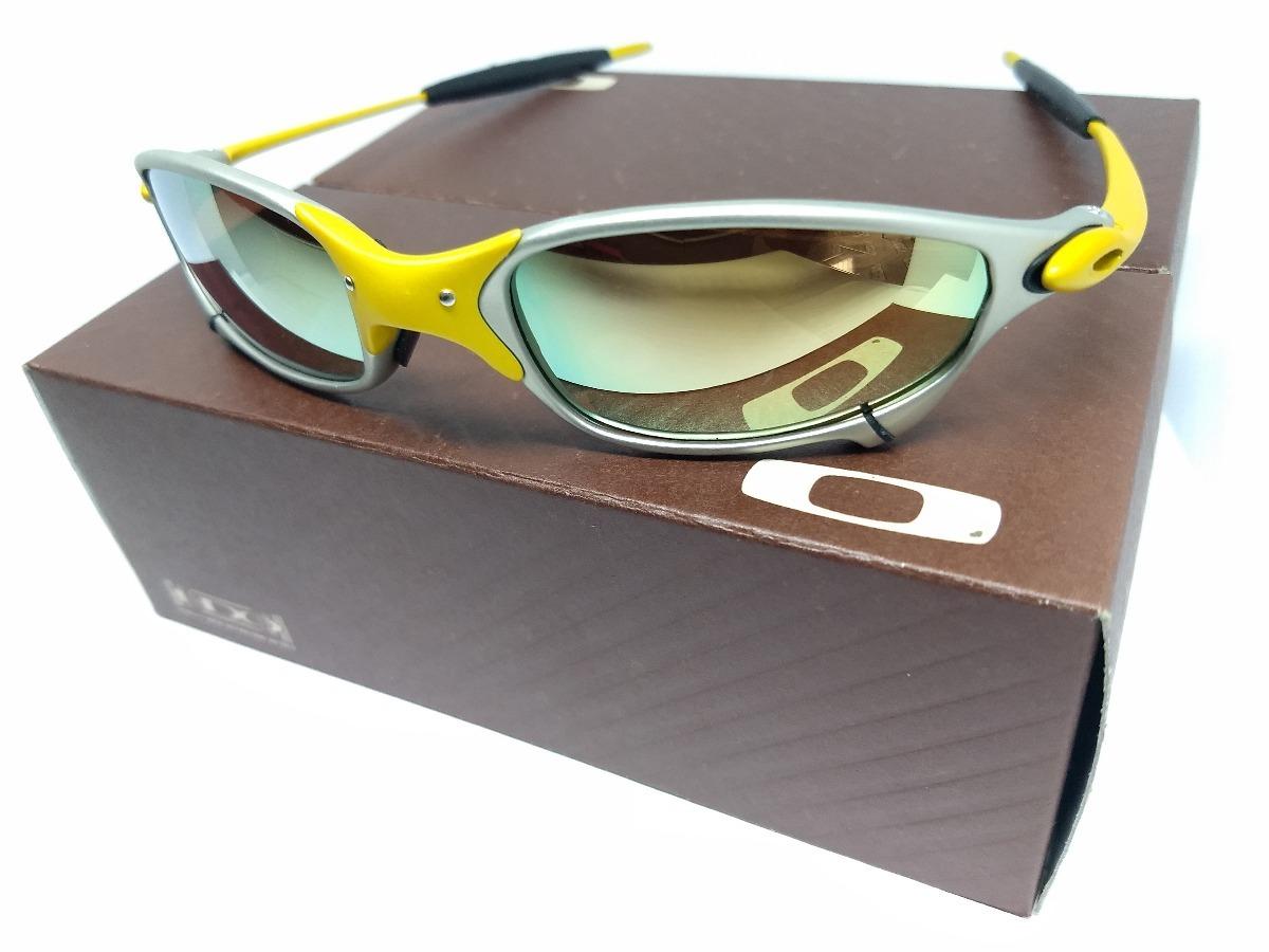1984a6ef25605 Óculos Oakley Juliet Penny Double Xx 24k Gold - R  120