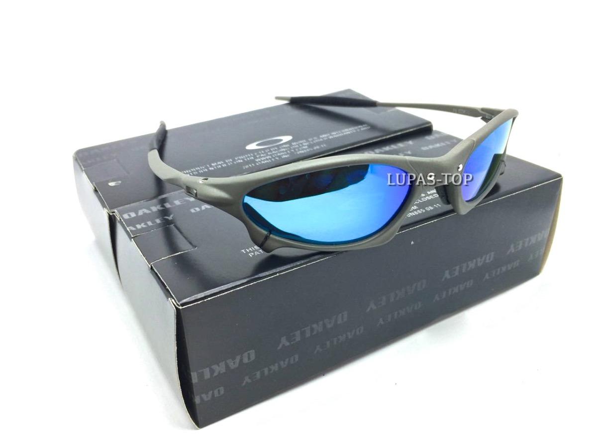 Carregando zoom... óculos oakley juliet penny xmetal lente ice thug azul  bebe 40d1adb71a