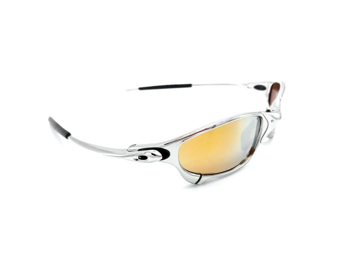 effc663647a6c Carregando zoom... óculos oakley double x 24k juliet squared romeo 1 e romeo